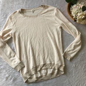 Wilfred Cream Soft Knit Long Sleeve